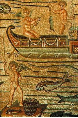 Мозаика пола соборной базилики в Аквилее. IV в.