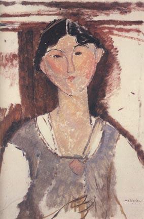 А.Модильяни Портрет Беатрис Хастингс 1915-1916 гг