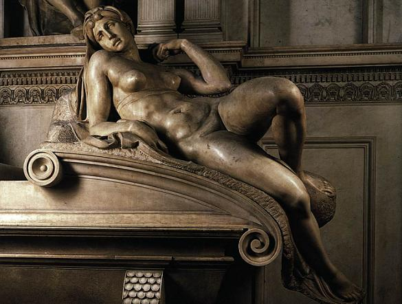 Микеланджело Аллегорическая фигура
