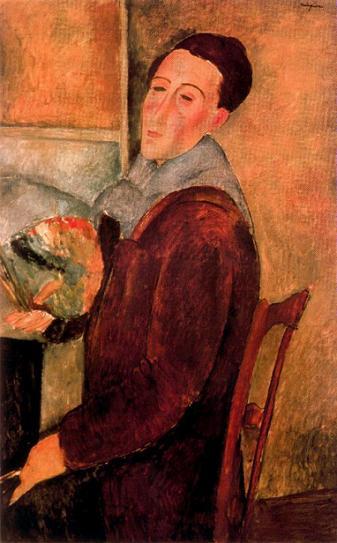 Амедео Модильяни Автопортрет 1919 г