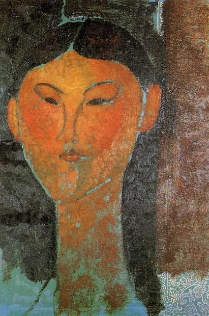 А.Модильяни Портрет Беатрис Хастингс 1915 г