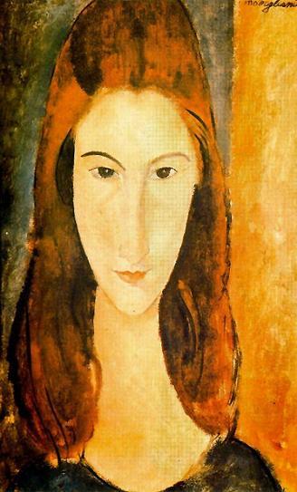 Портрет Жанны Эбютерн 1919 г