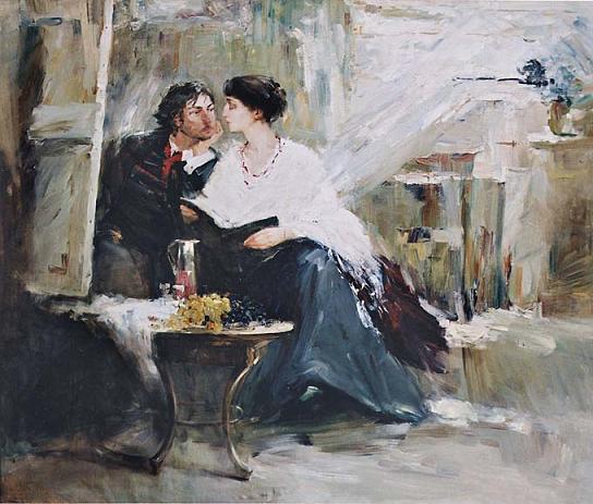 Наталия Третьякова Ахматова и Модильяни. У неоконченного портрета